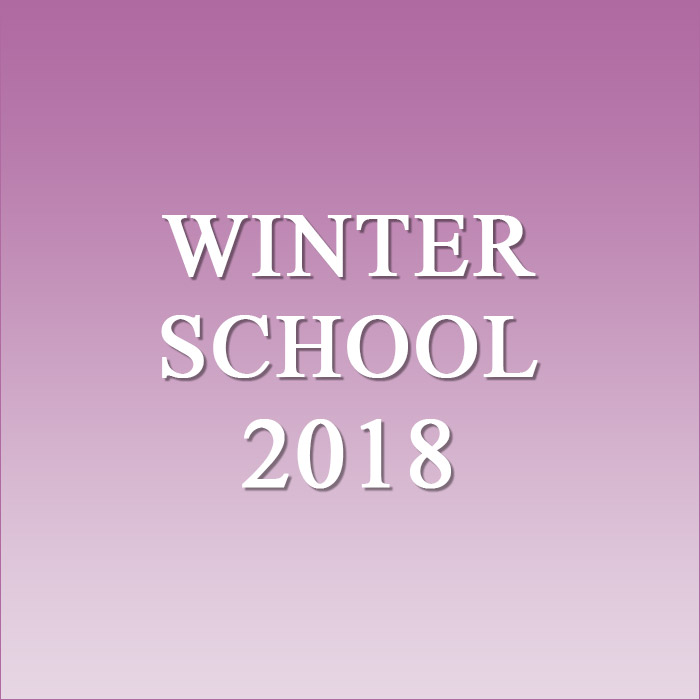 WinterSchool 2018
